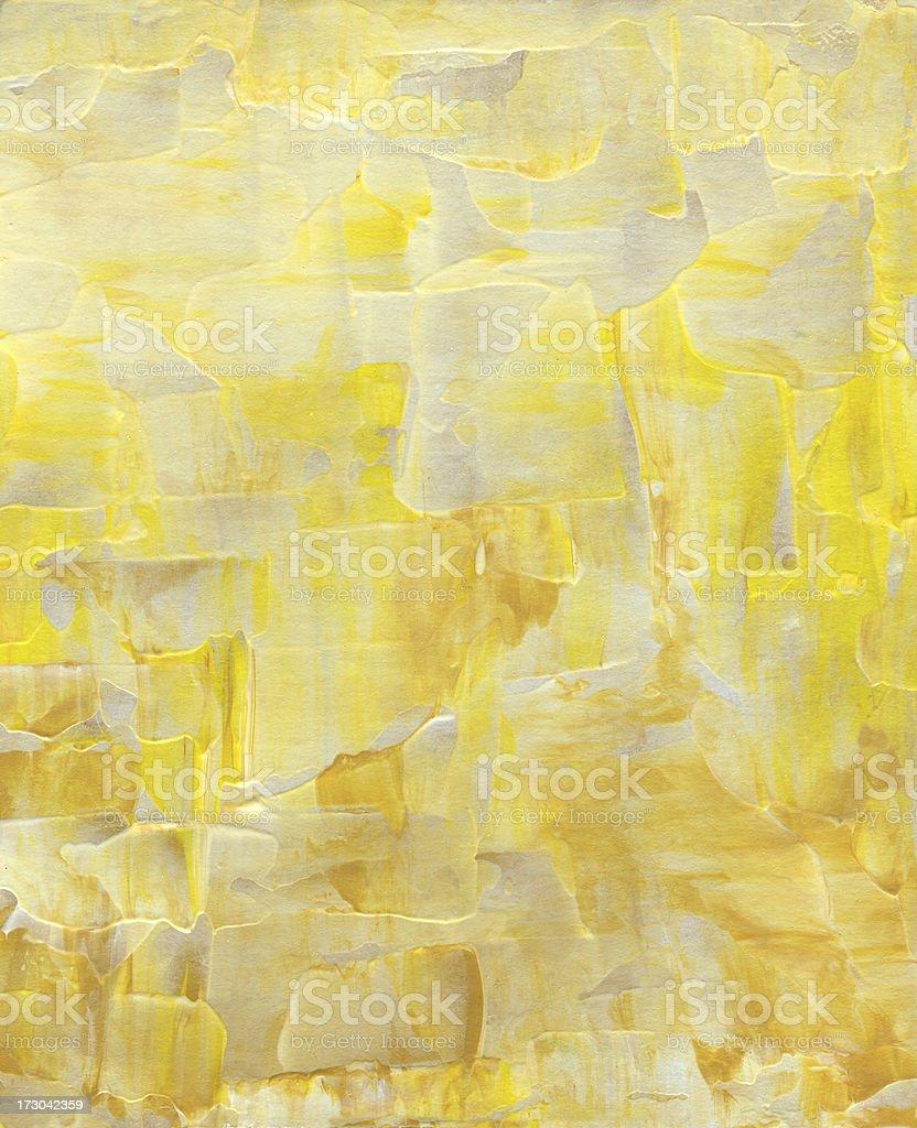 Abstrakt in beige und Gelb Lizenzfreies vektor illustration