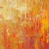 Abstract in red,yellow and orange