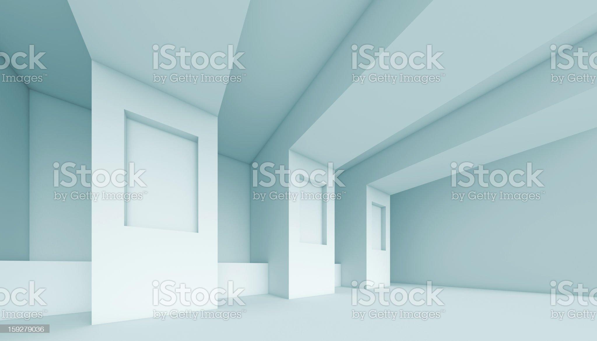 Abstract Interior Design royalty-free stock vector art