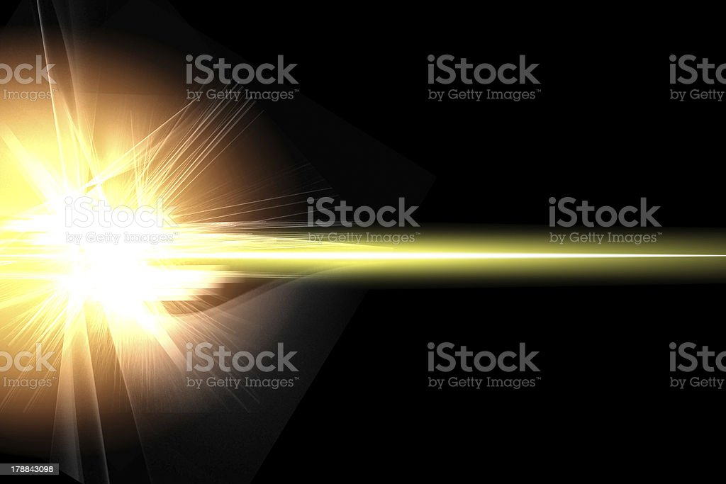 Abstract lighting flare royalty-free stock vector art