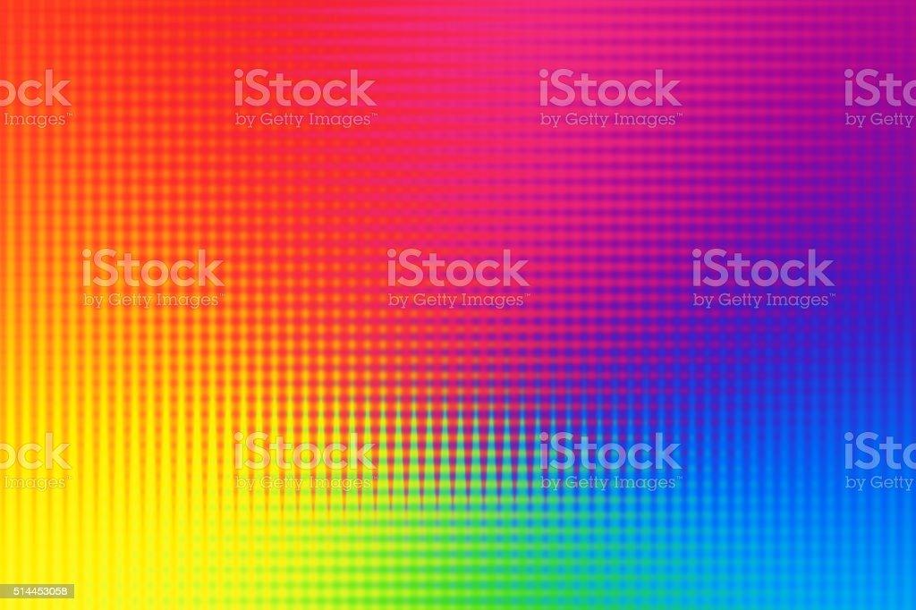 Abstract Line Pattern Background Rainbow Spectrum vector art illustration