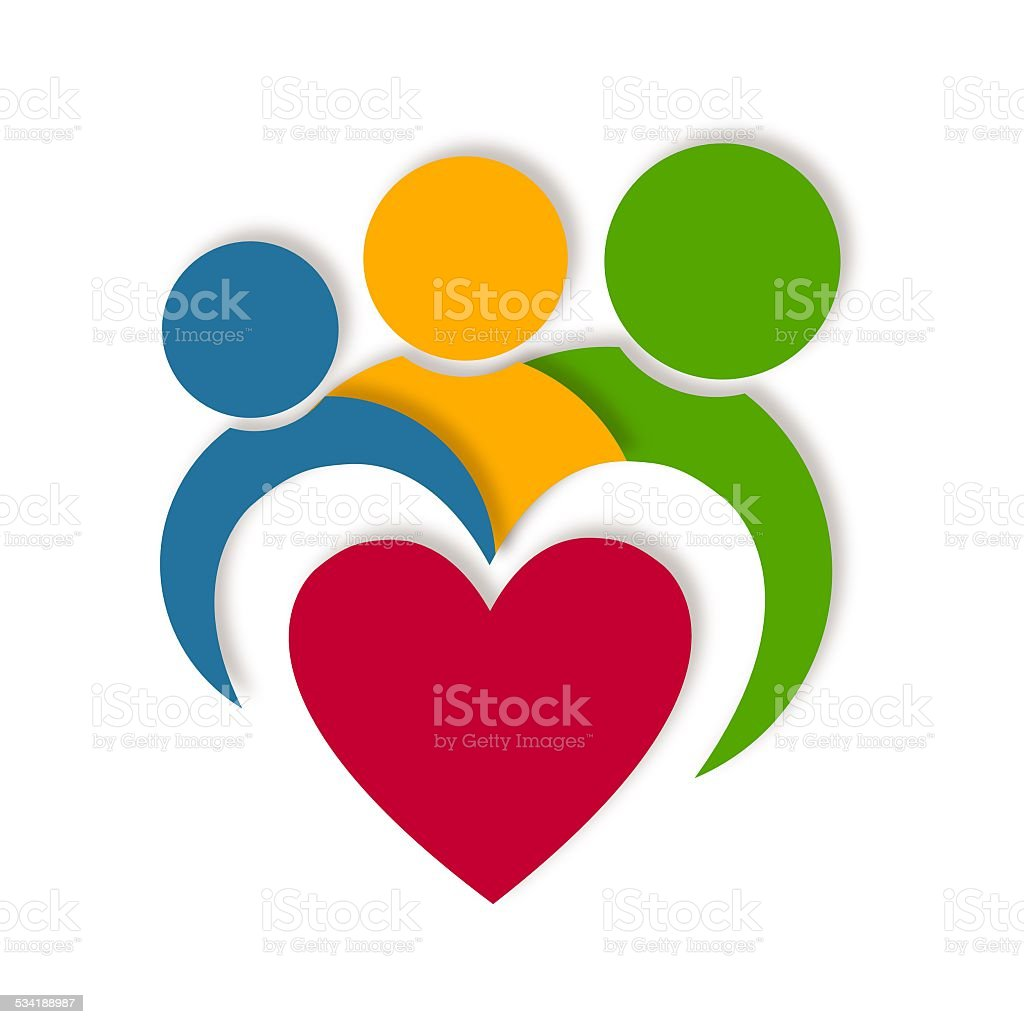 Abstract Logo design vector art illustration
