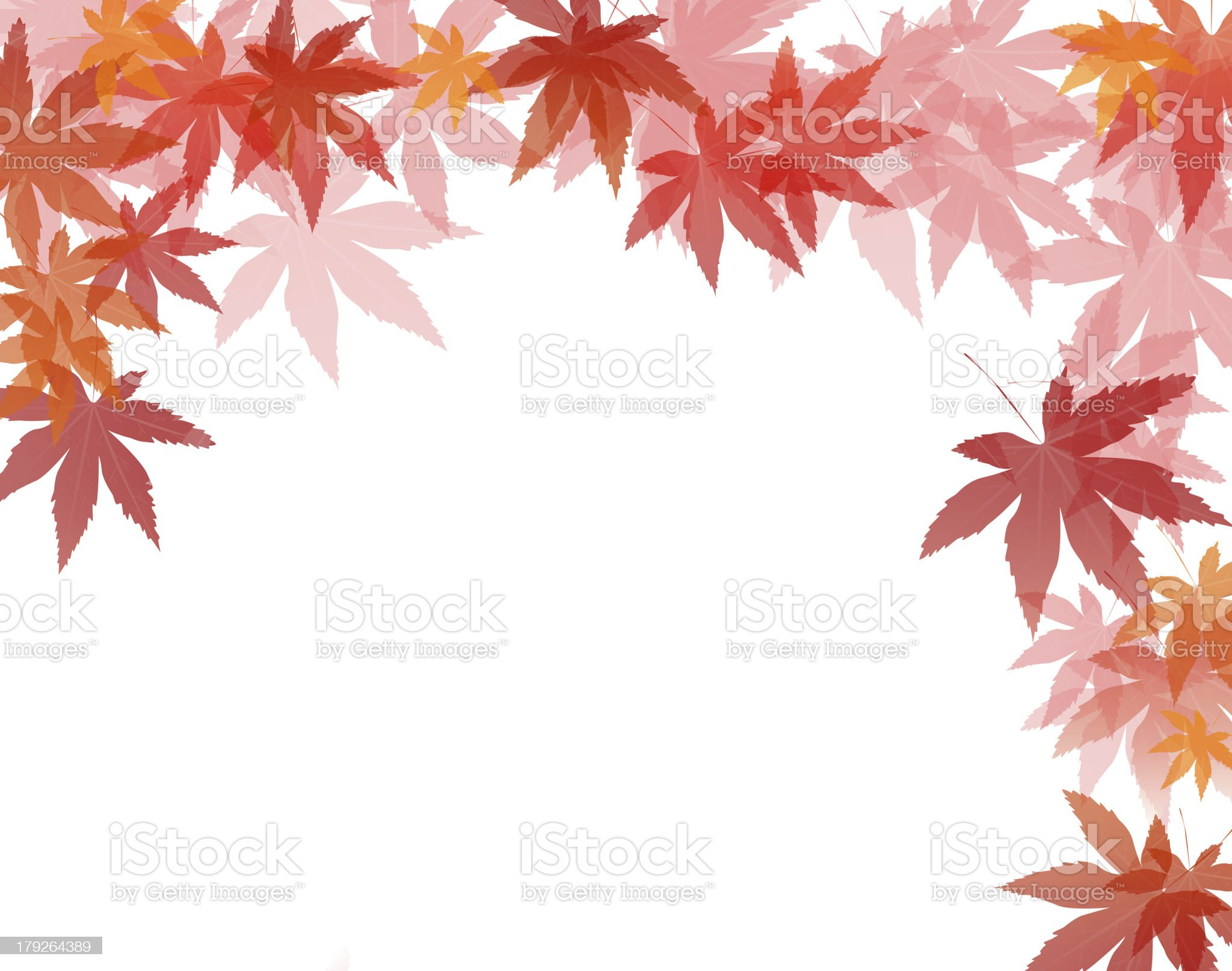 Abstract maple leaf background royalty-free stock vector art