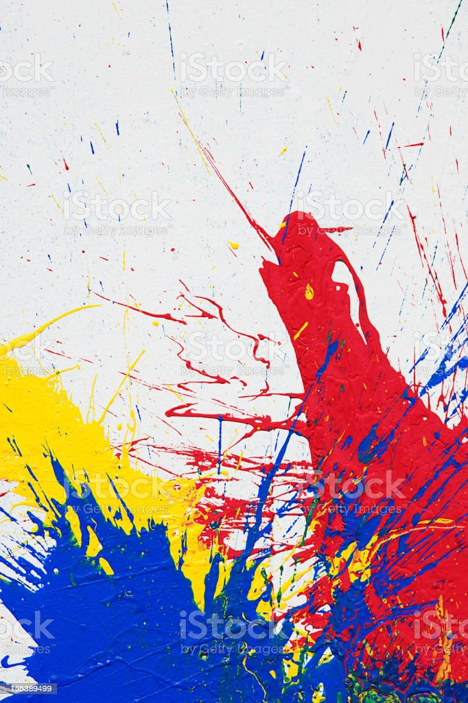 Abstract paint royalty-free stock vector art
