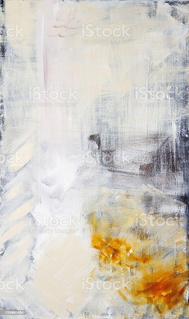 Abstract painted art acrylic vector art illustration