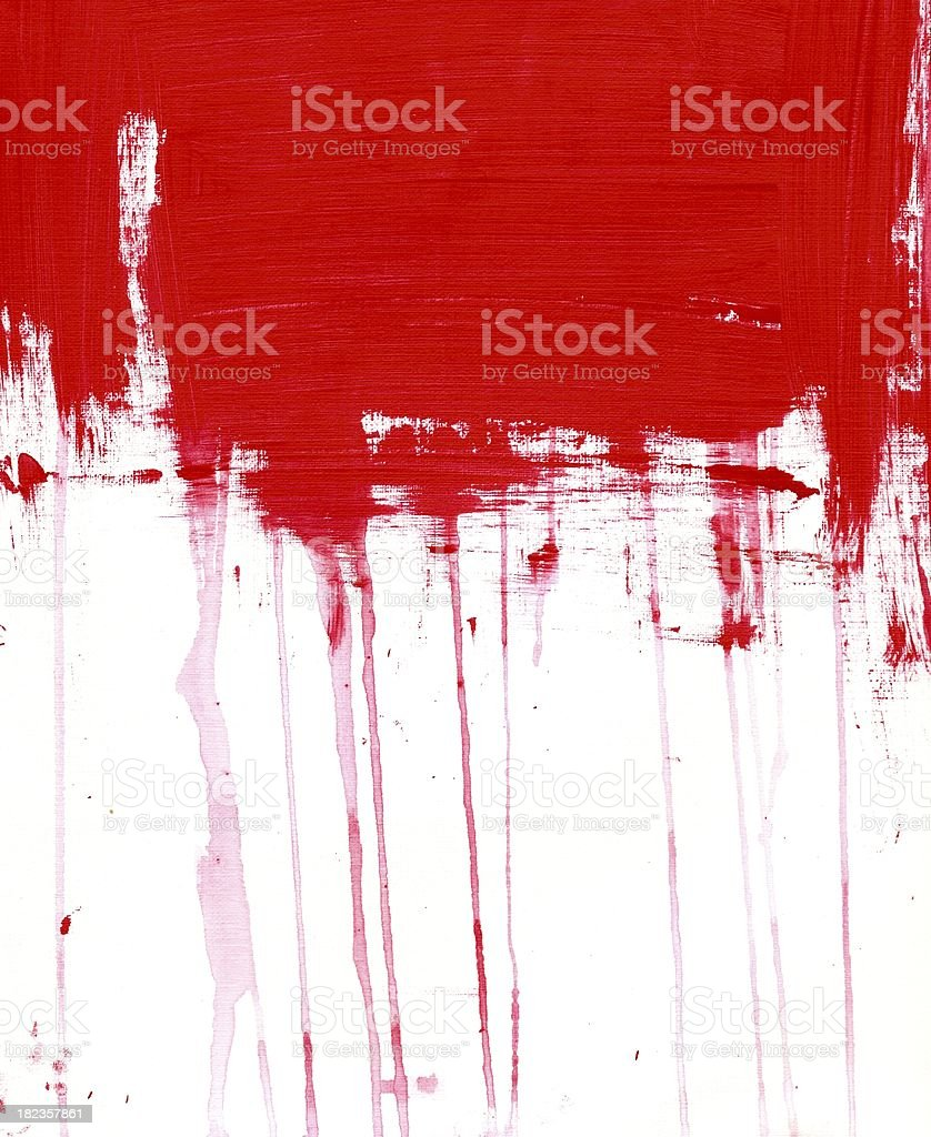 Abstract Painting vector art illustration
