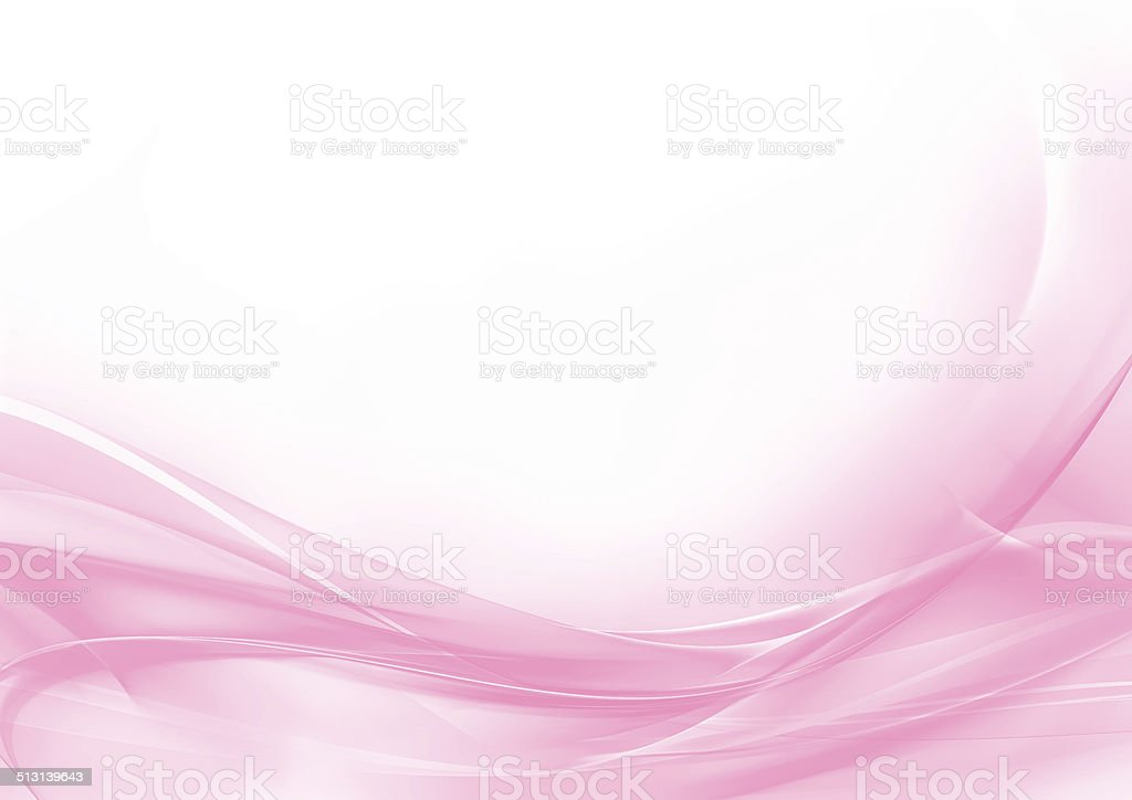Abstract pastel pink and white background vector art illustration