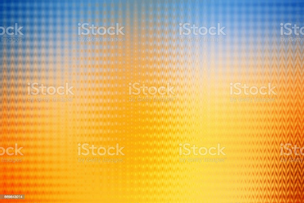 Abstract Pattern Background Yellow Blue stock photo