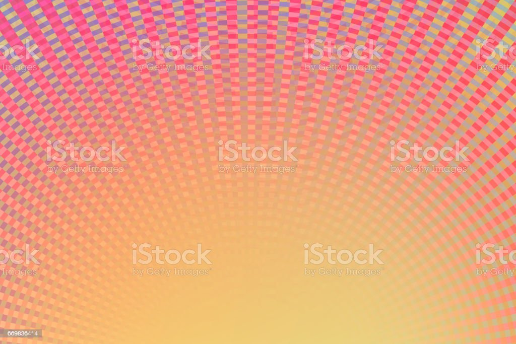 Abstract Pattern Background Yellow Red stock photo
