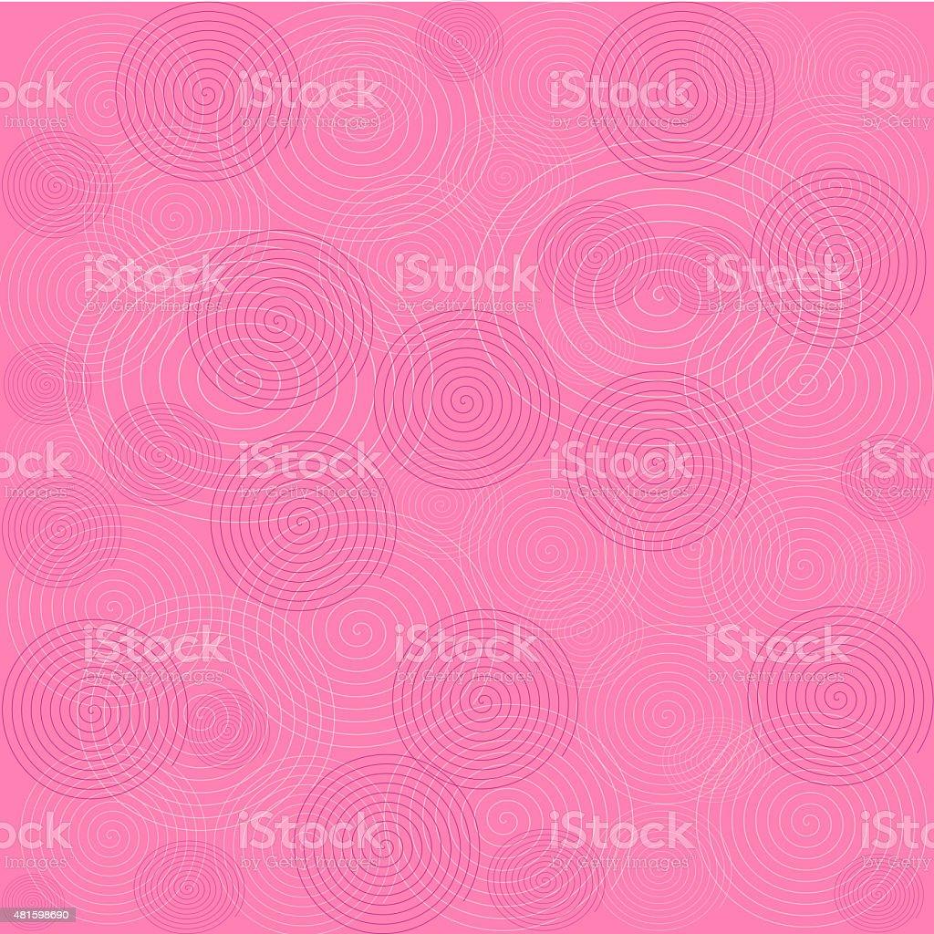 Abstract Pink Swirl Background vector art illustration