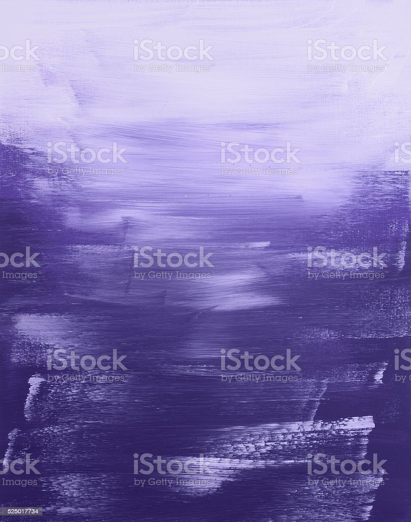 Abstract purple painting vector art illustration