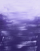 Abstract purple painting