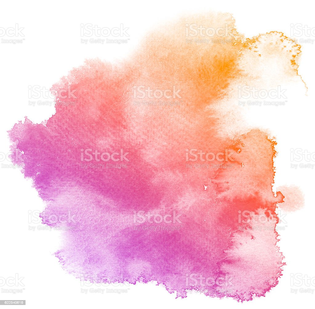 Abstract purple watercolor background. vector art illustration