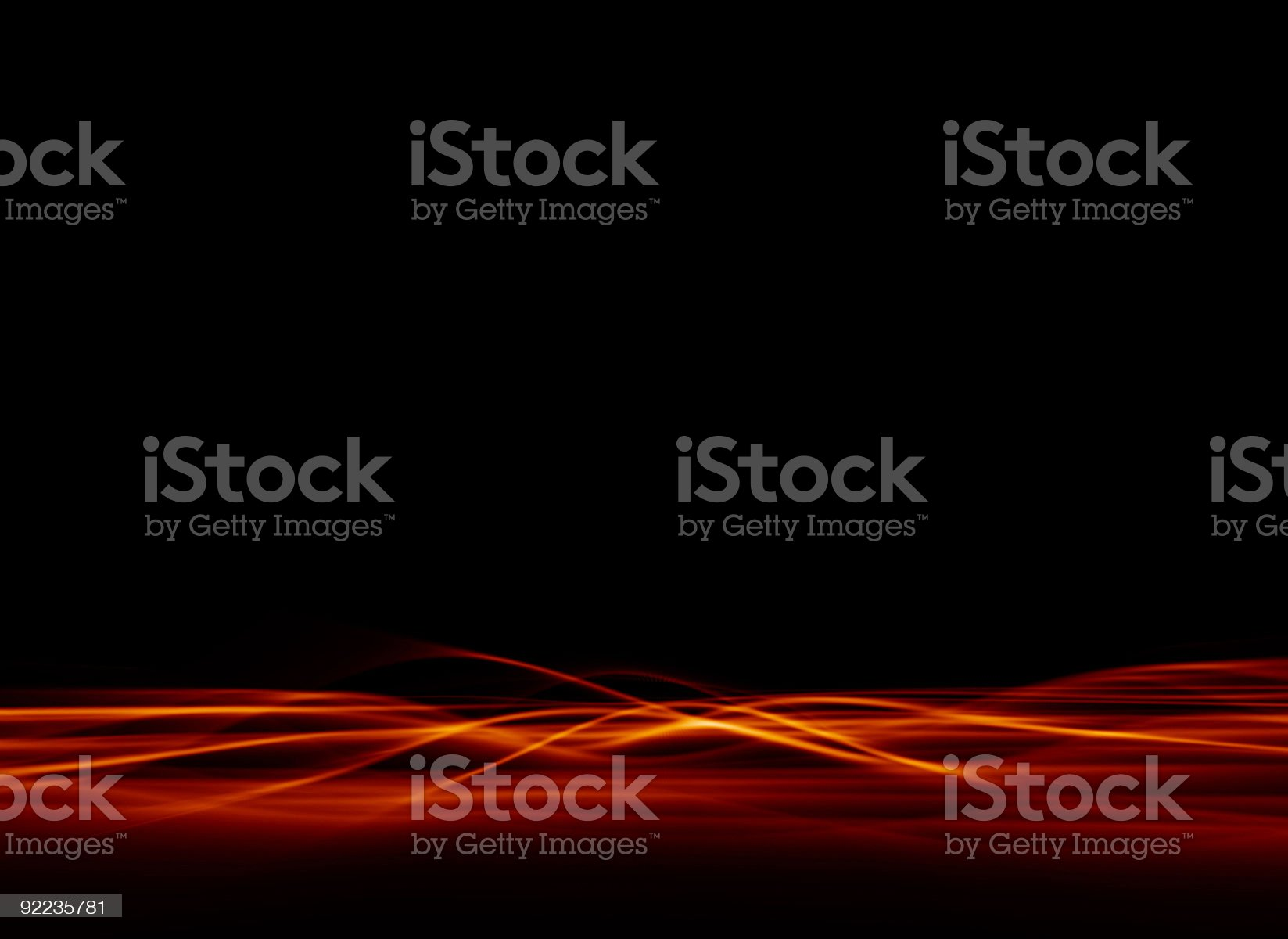 Abstract - Red Plasma 3 royalty-free stock vector art