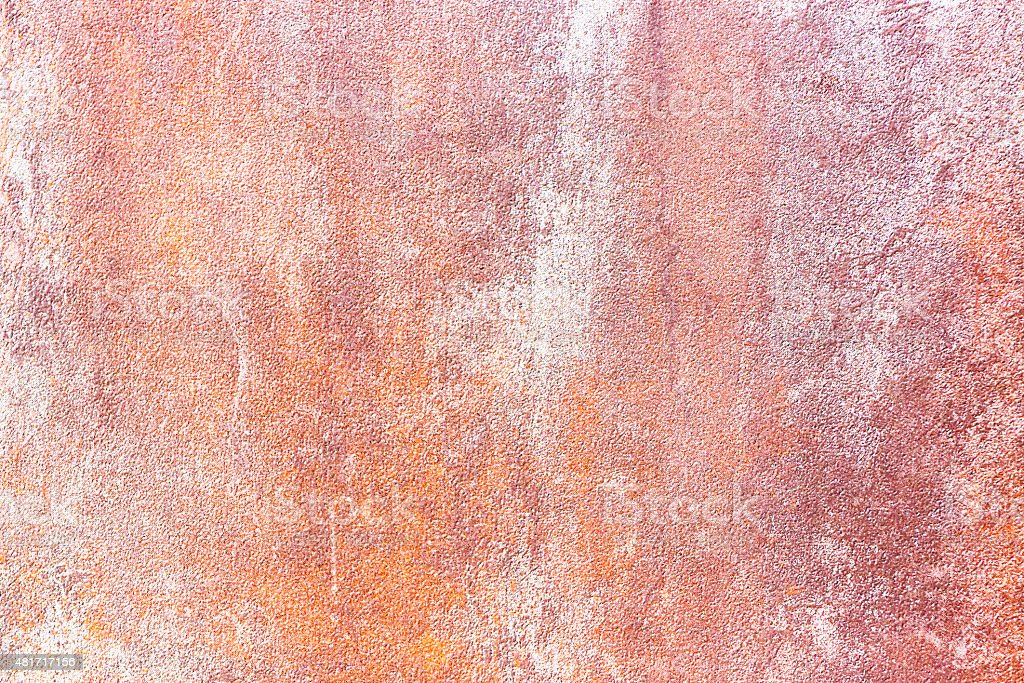 Abstract rusty background, copy space vector art illustration