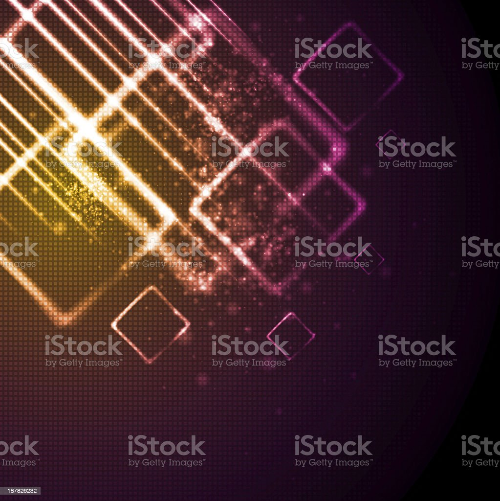 Abstract shiny tech background royalty-free stock vector art