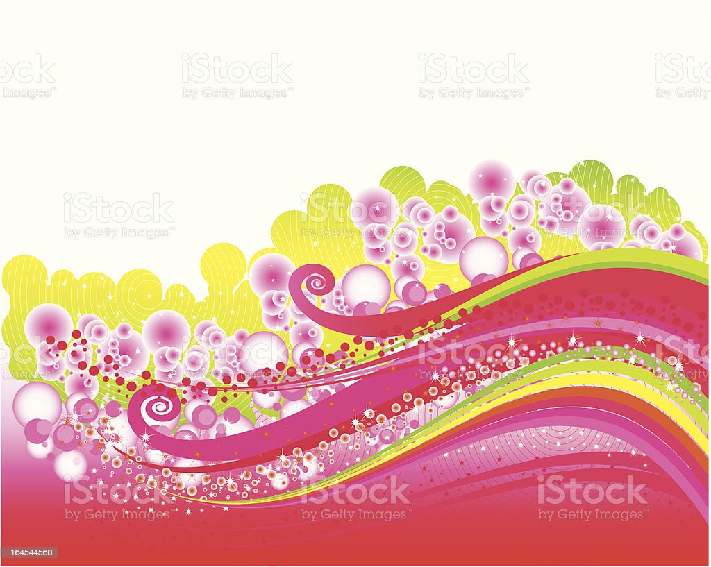 Abstract sparkling background royalty-free stock vector art