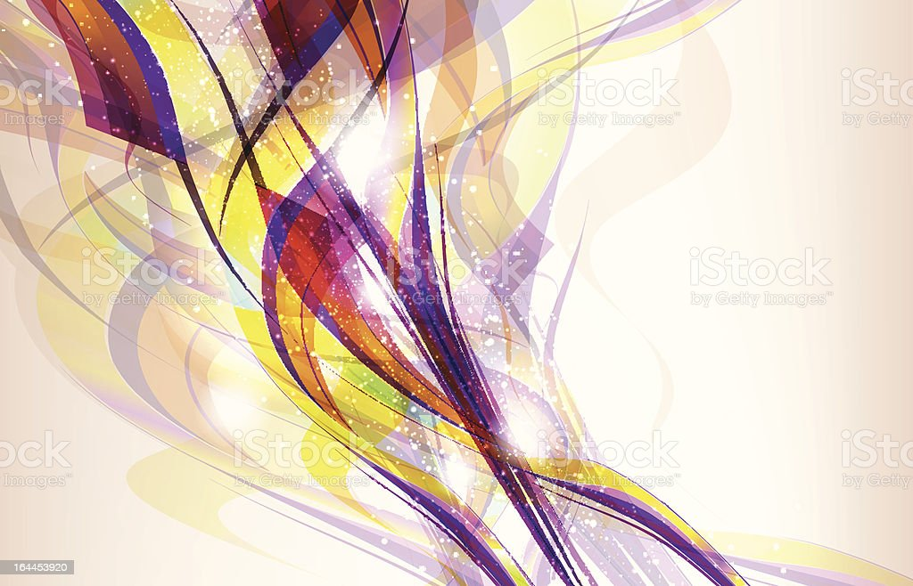 Abstract sparkly vector background royalty-free stock vector art
