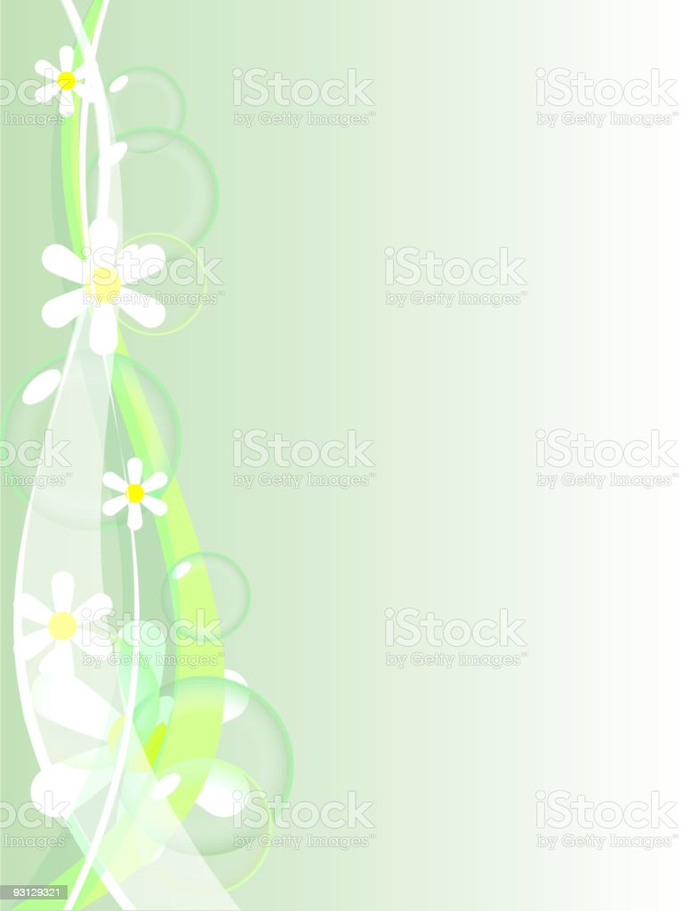 Abstract spring background. royalty-free stock vector art