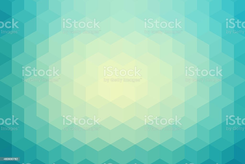 Abstract squre background vector art illustration