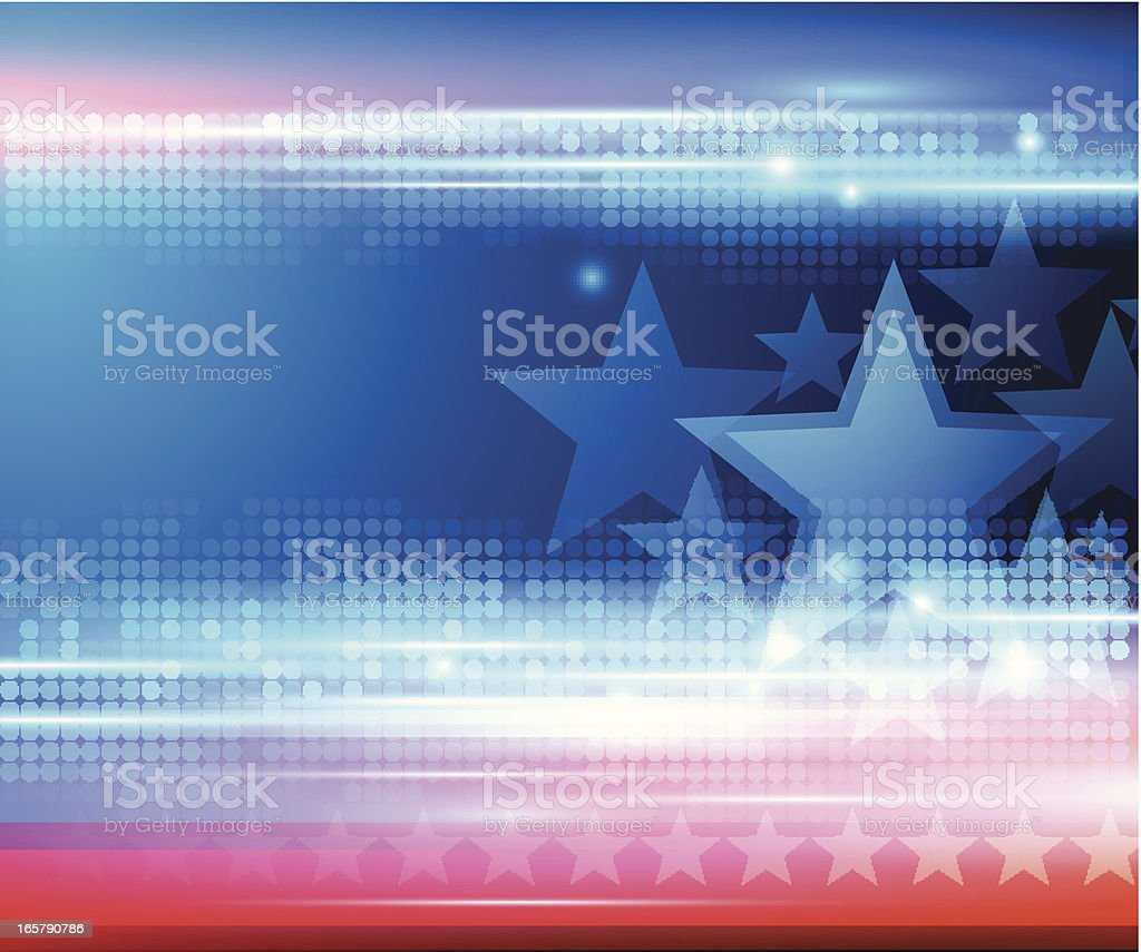 Abstract star background vector art illustration