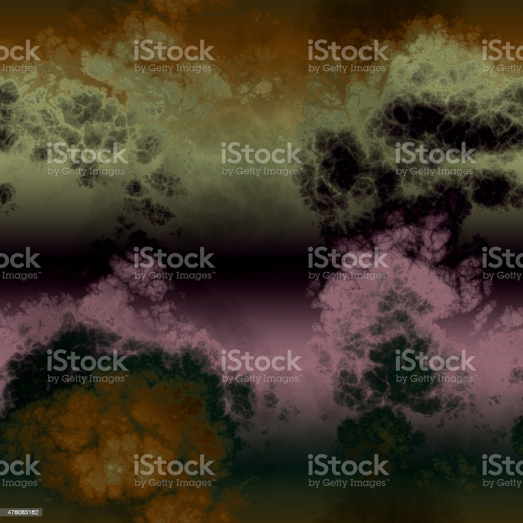 Abstract storm morass seamless generated texture vector art illustration