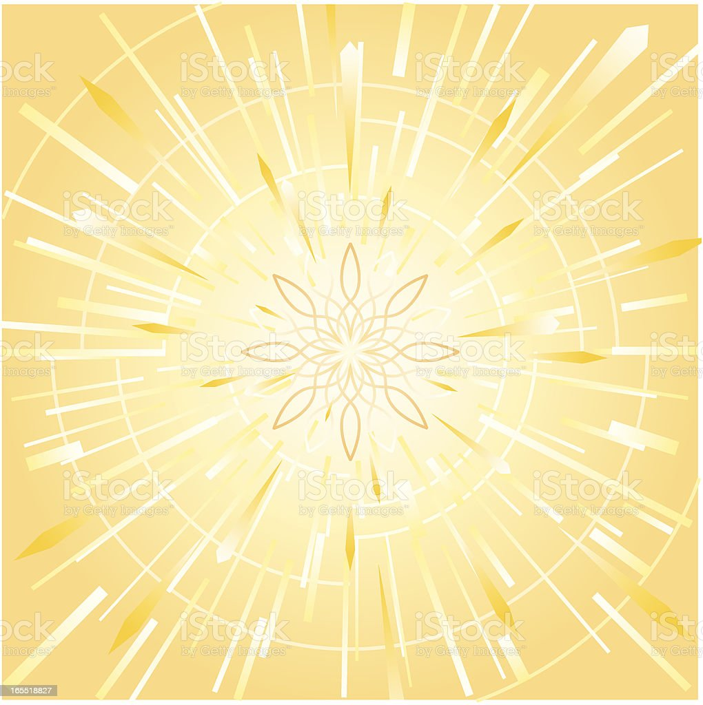 Abstract sunburst background royalty-free stock vector art