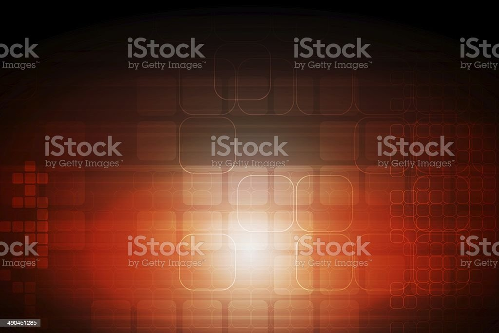 Abstract technical backdrop royalty-free stock vector art