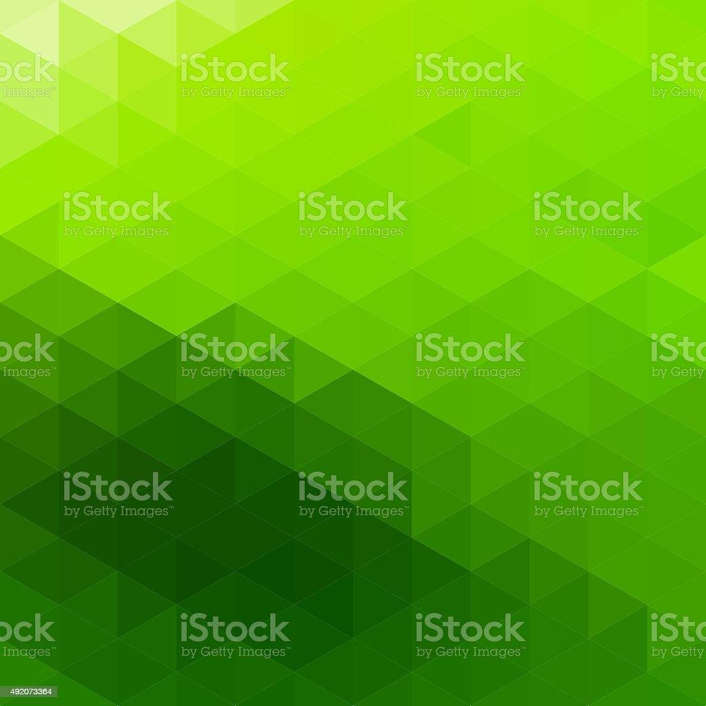 Abstract Triangular Mosaic Background vector art illustration