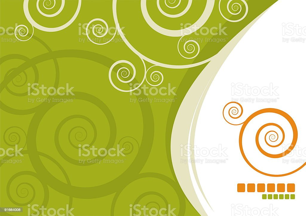 Abstract vector template royalty-free stock vector art