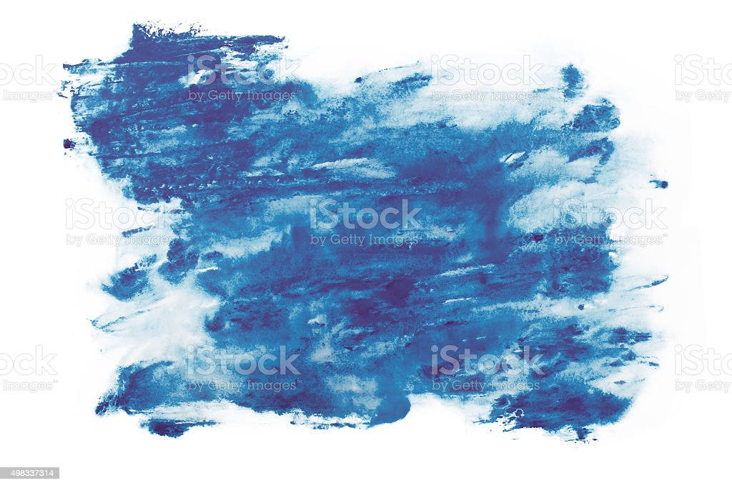 Abstract watercolor aquarelle paint hand drawn colorful splatter stain vector art illustration