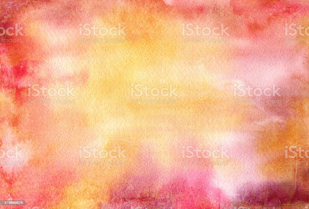 Abstract watercolor background texture with various colors mixed vector art illustration
