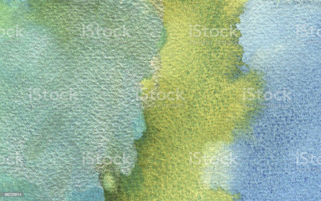Abstract Watercolor Background XL royalty-free stock vector art