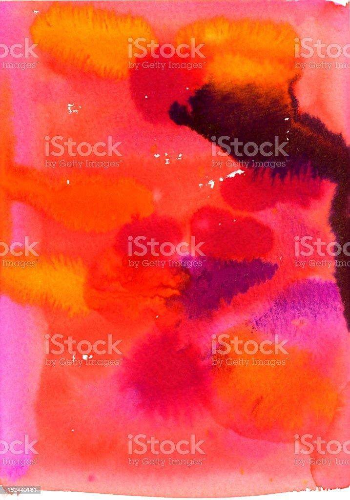 Abstract watercolor royalty-free stock vector art