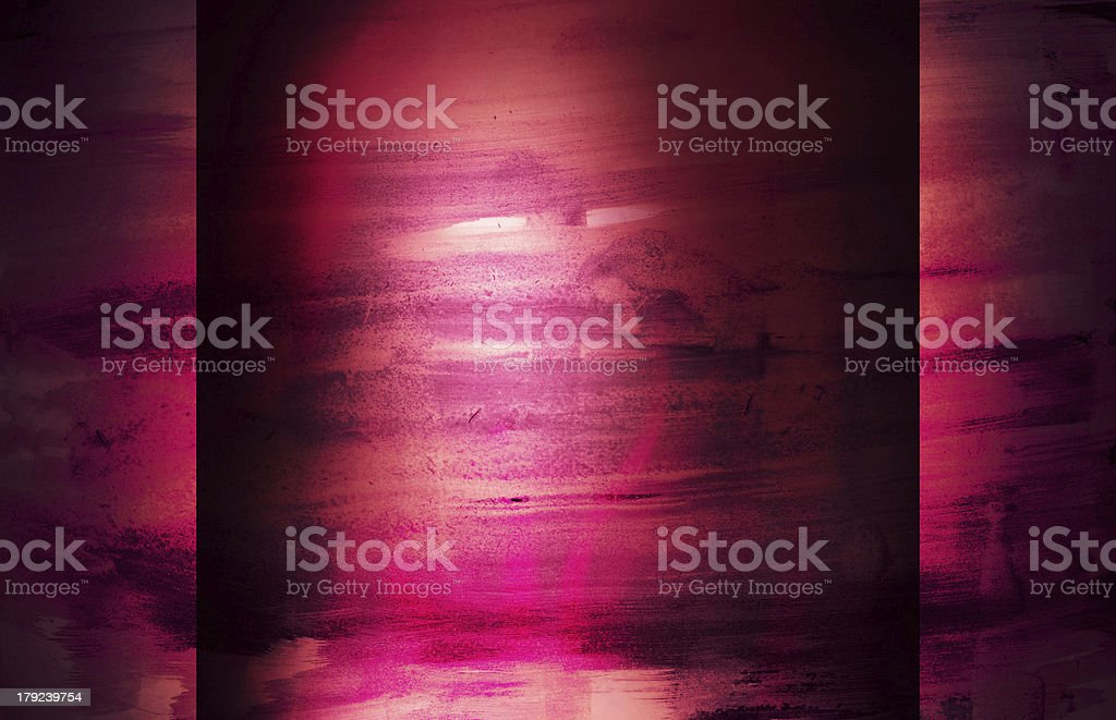 Abstract Watercolor nature painting royalty-free stock vector art