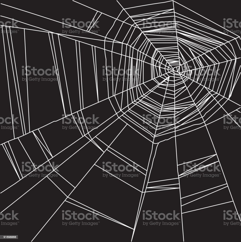 Abstract web background vector art illustration