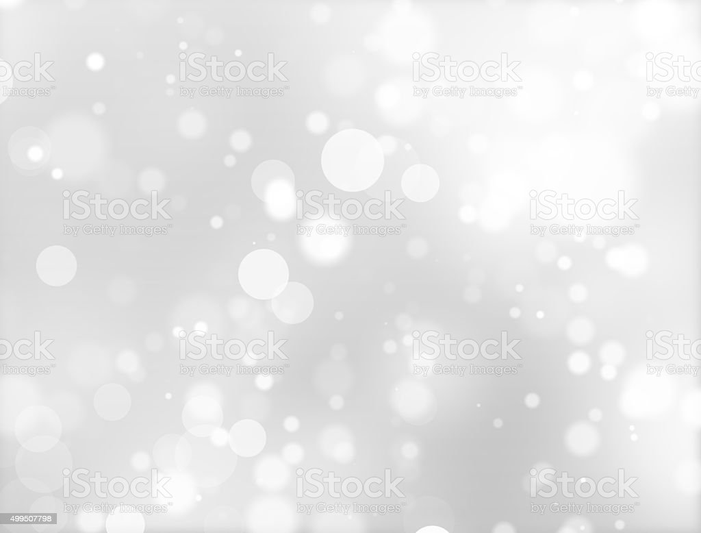 Abstract White Defocused Background vector art illustration