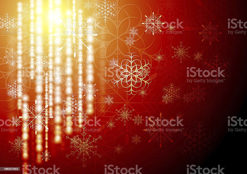 Abstract X-mas background royalty-free stock vector art