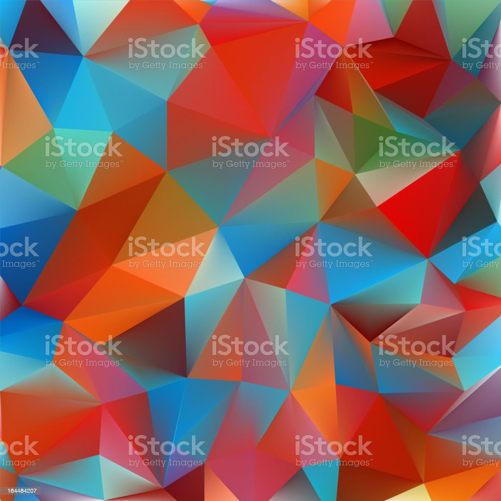 Abstract yellow and blue. EPS 8 royalty-free stock vector art