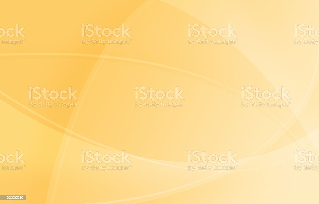 Abstract Yellow Background vector art illustration