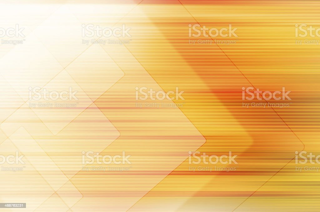 Abstract yellow tech background. stock photo