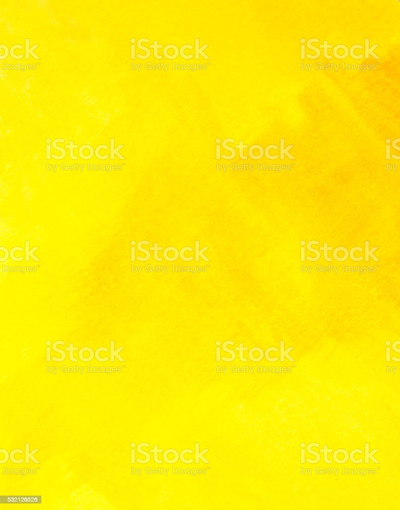 Abstract Yellow Watercolor Texture Background vector art illustration
