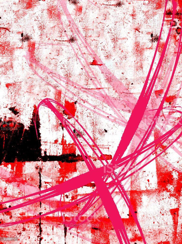 Abstruse Grunge vector art illustration