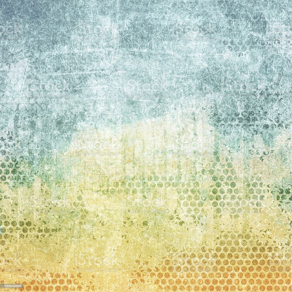 Aged paper color texture royalty-free stock vector art