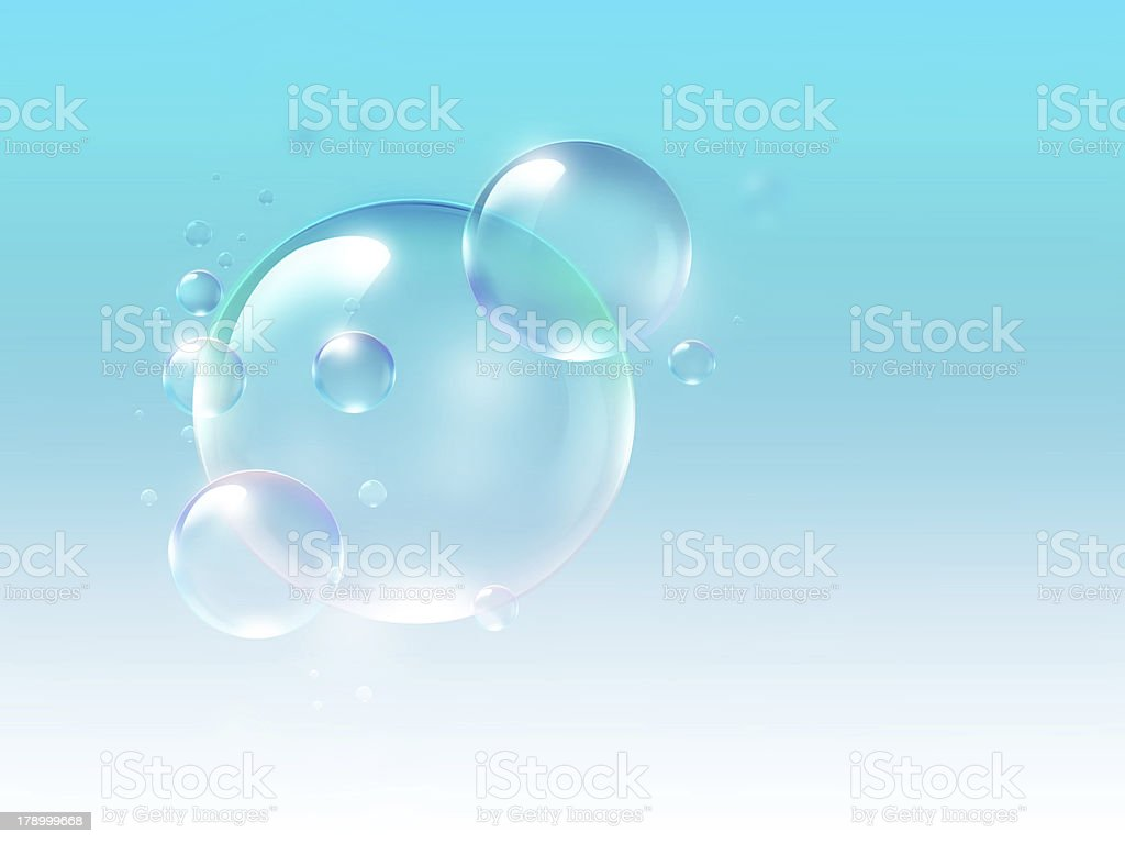 air bubbles royalty-free stock vector art