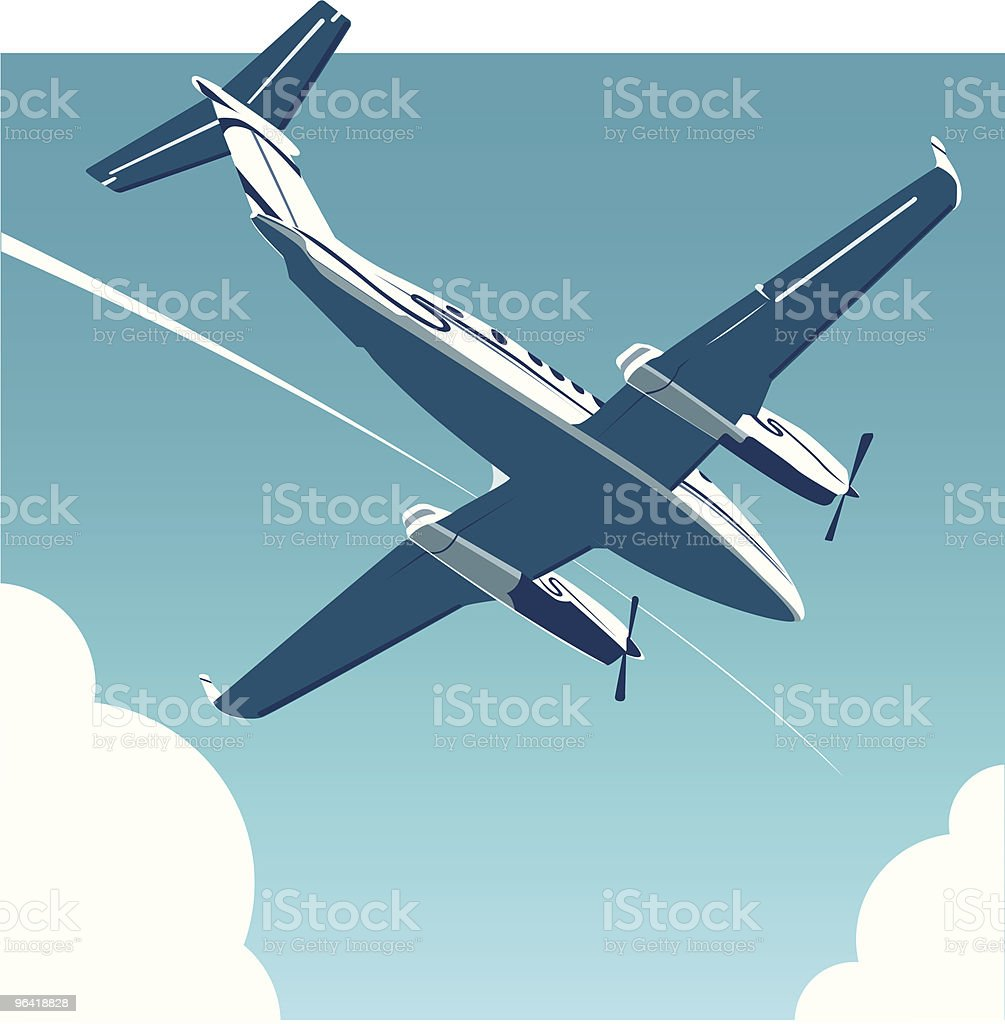 Air Travel [vector] royalty-free stock vector art