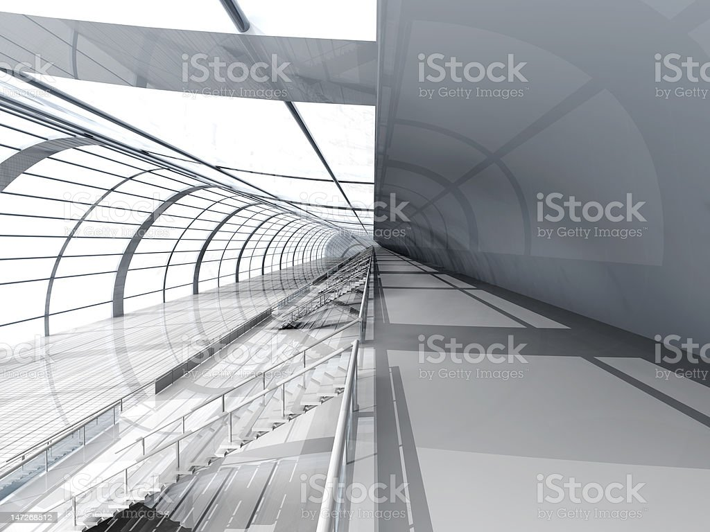 Airport Architecture royalty-free stock vector art