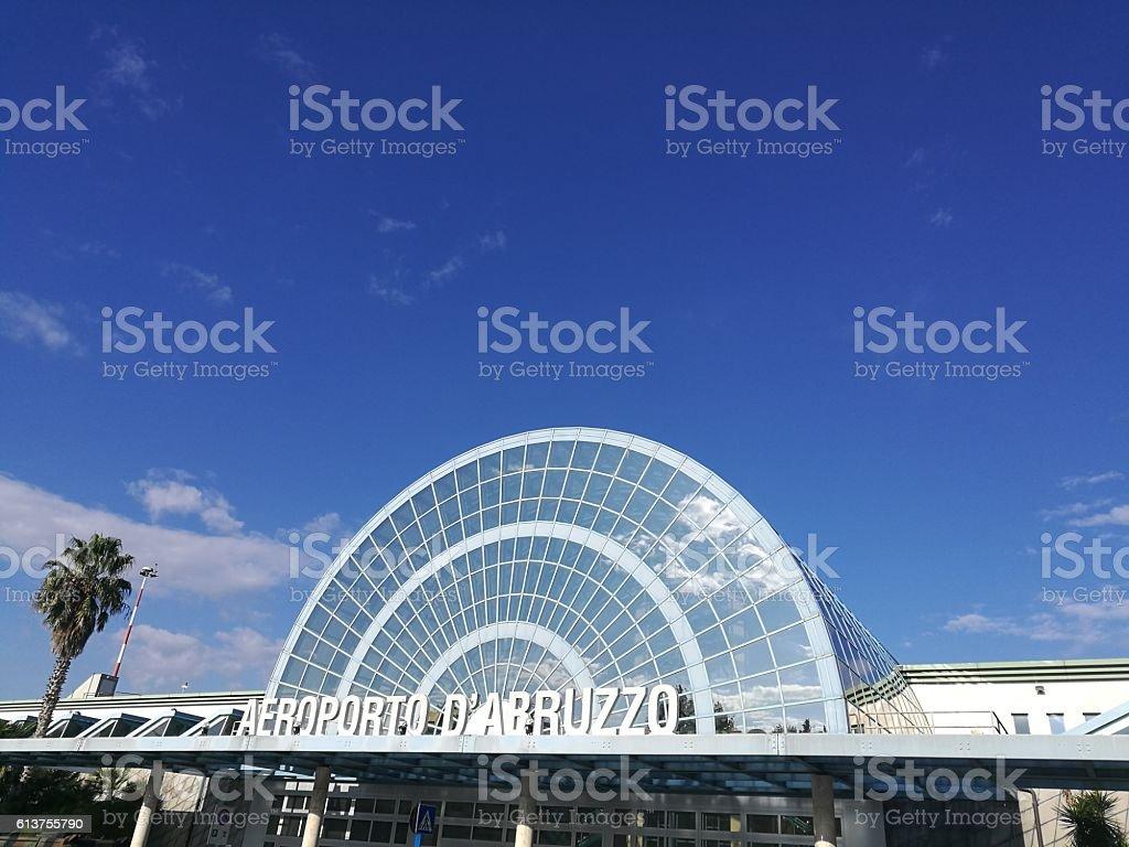 airport of Abruzzi vector art illustration