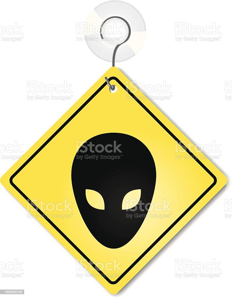 Aliens On Board royalty-free stock vector art