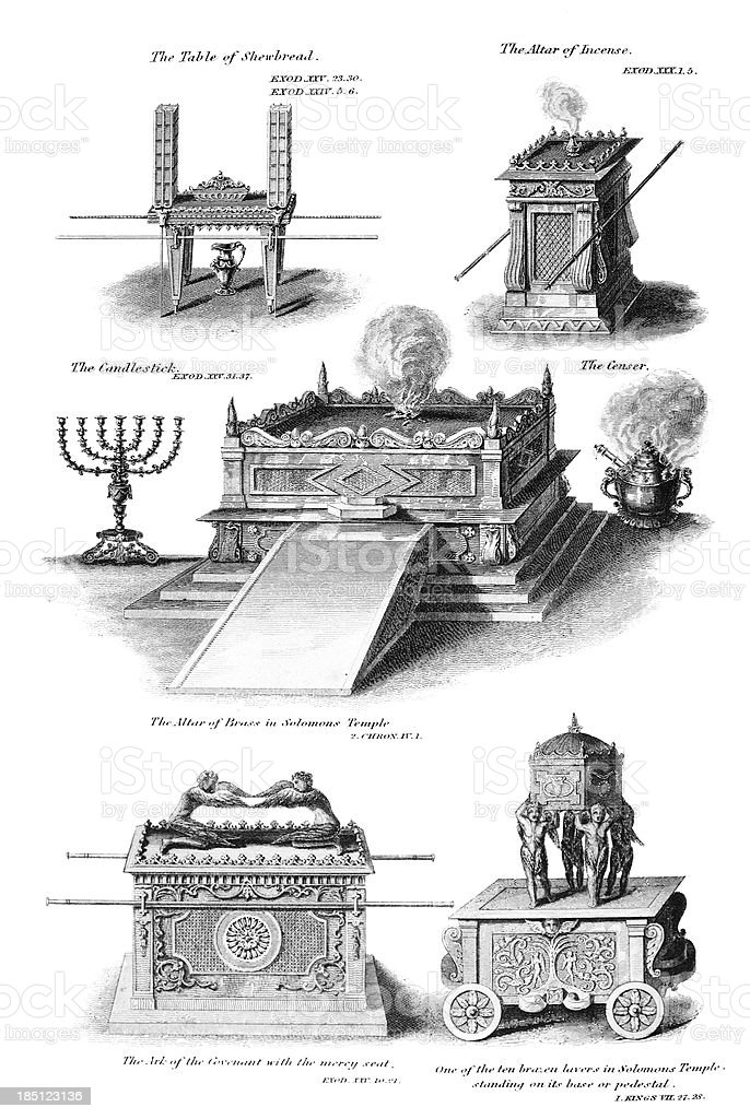 Altar Illustrations vector art illustration